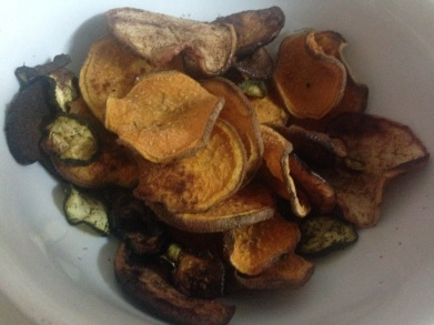 Schlemmen&Snack_Süßkartoffel- und Zucchinichips