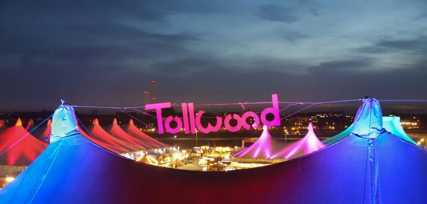 Ansicht Tollwood Winterfestival auf der Theresienwiese in München am 23.11.2016 ND © Bernd Wackerbauer