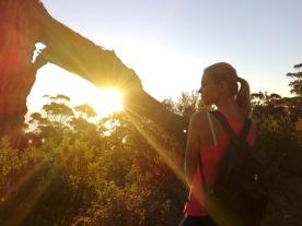 Blick vom Lion´s Head bei Sonnenuntergang