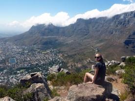 Blick vom Lion´s Head mit dem Tafelberg als Kulisse