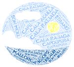 Cala Rajada-wordcloud2