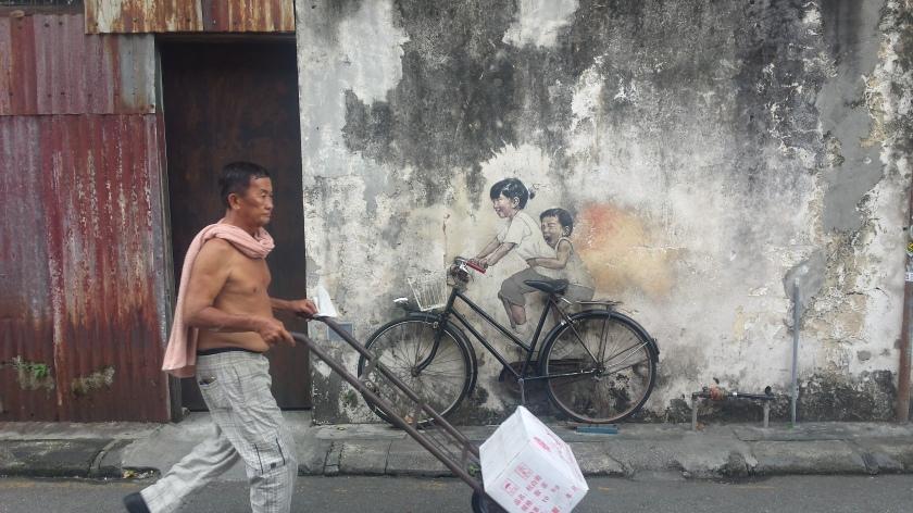 Straßenkunst Ernest Z.