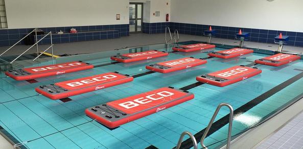 Floating Fitness: Training auf dem Wasser