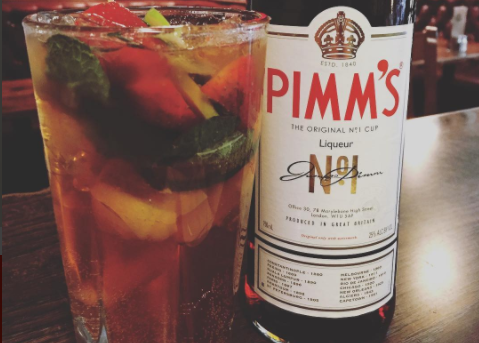 Cocktail of the Week:  Pimm´s No.1 – PIMM´S CUP