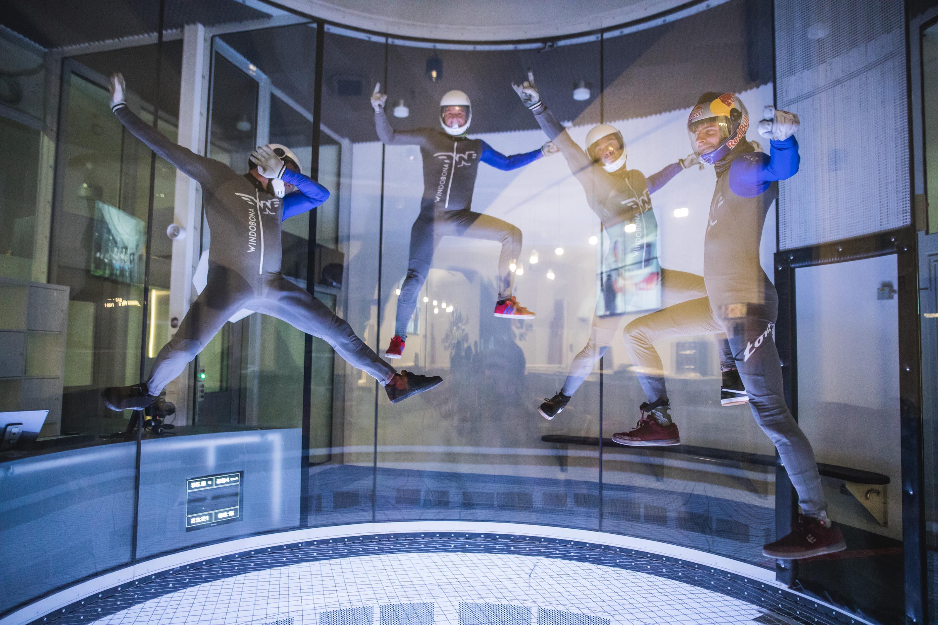 Jeder kann fliegen – Mitten in Berlin eröffnet Deutschlands modernster Windtunnel für Indoor Skydiving
