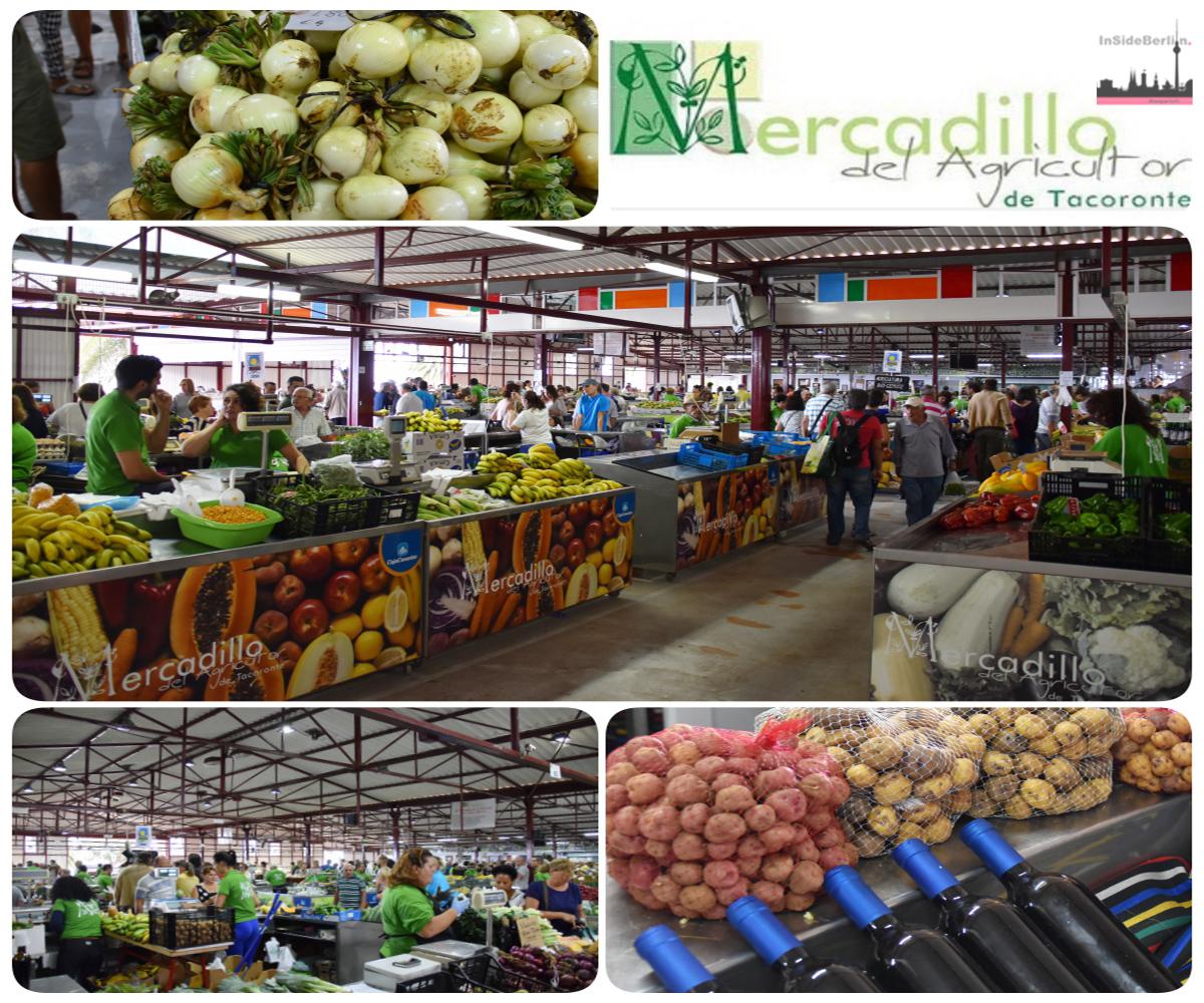 "Der authentische Markt ""Mercadillo del Agricultor de Tacoronte"" auf Teneriffa"