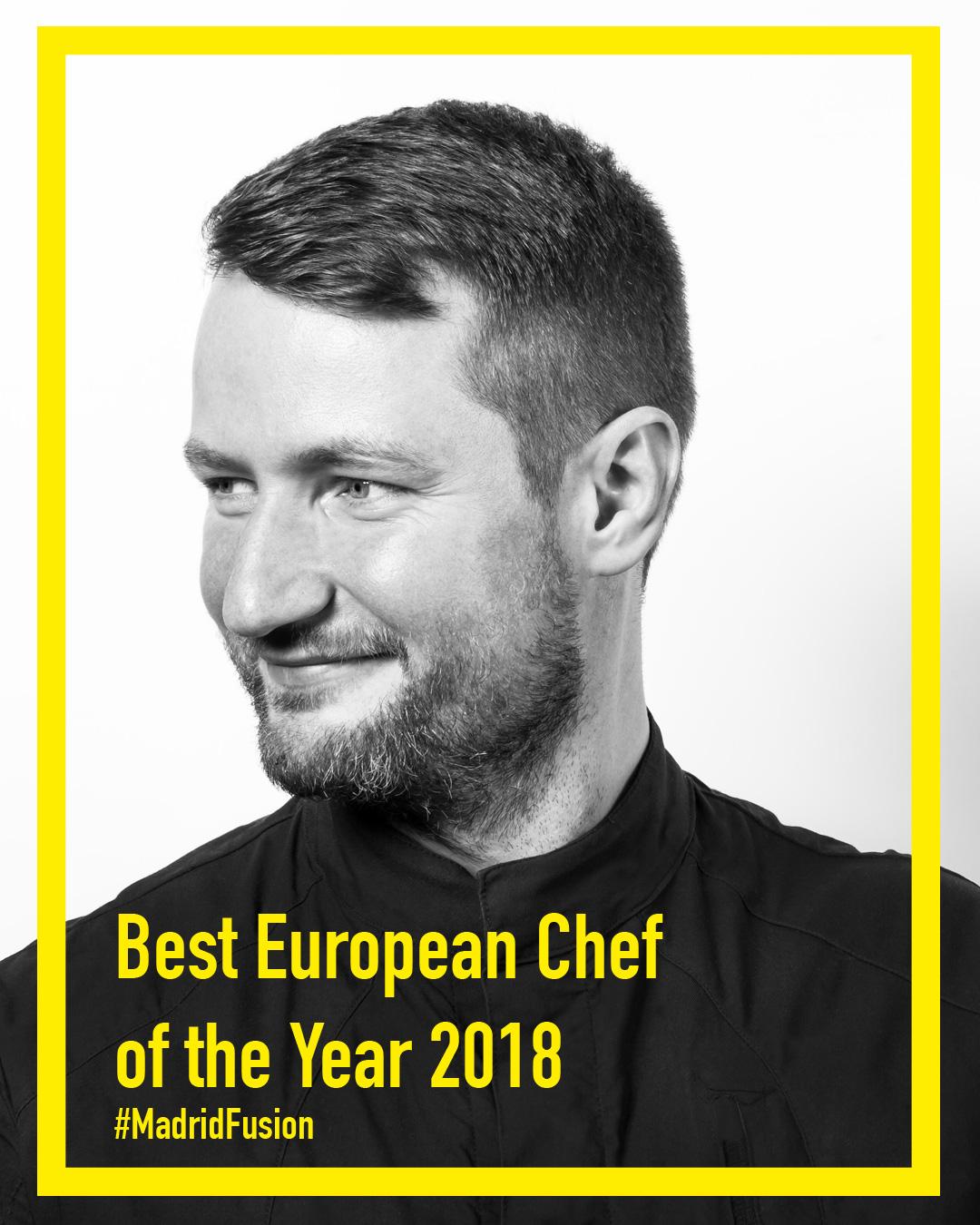 """Sebastian Frank vom """"Horvath""""/Berlin ist 'bester Koch Europas 2018'"""