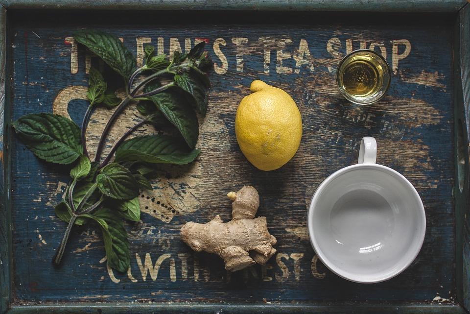 Hot Date in der Tasse: Tee mit frischem Ingwer