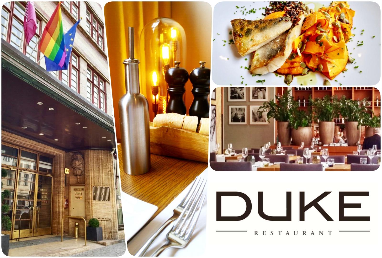 """Wo gibt es in Berlin ein gutes Mittagsmenü ? – Heute das Restaurant """"Duke"""" im Ellington Hotel in Berlin"""