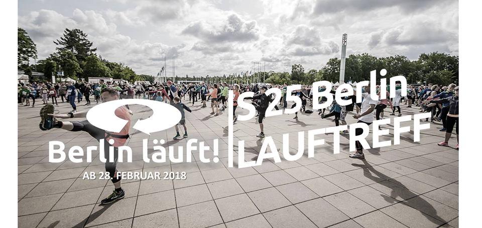Los gehts: Berlin läuft! Jeden Mittwoch 18h