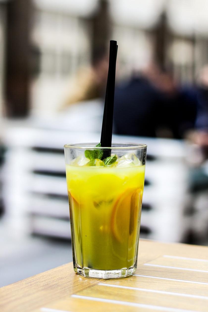 Trendgetränk: Matcha-Limo >> für einen erfrischenden COOL-DOWN ...