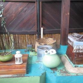 Komposttoilette der Mushroom Farm