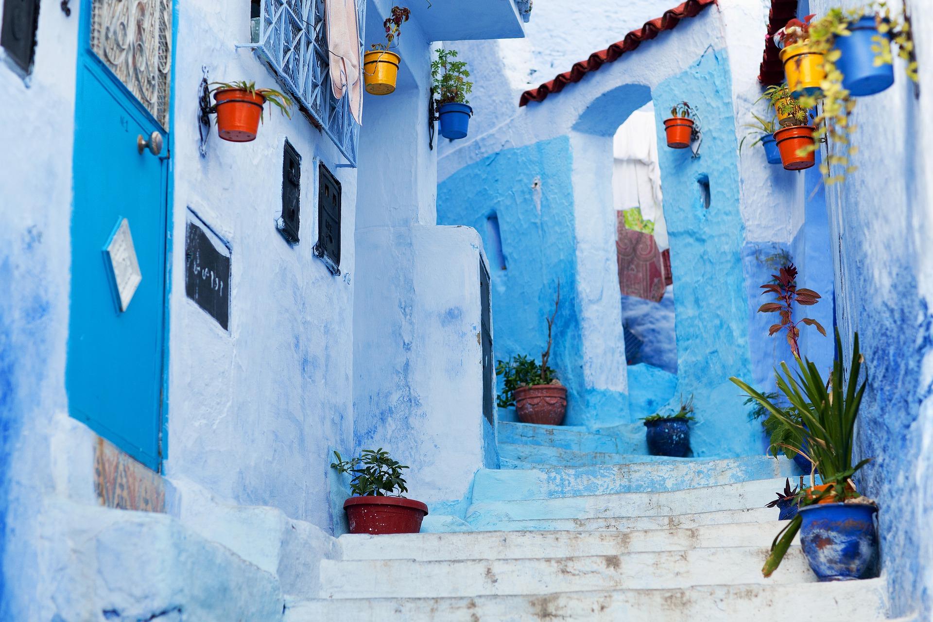 Geheimtipp: Chefchaouen → die magische blaue Stadt in Marokko